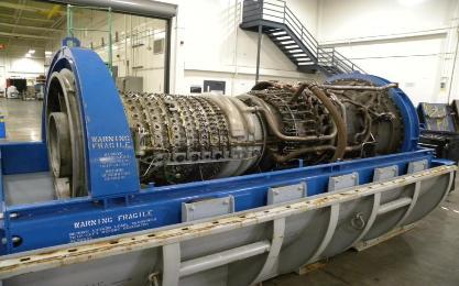 GE LM2500 PE Gas Turbine