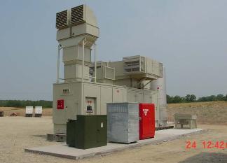 Solar Taurus Mobile Gas Turbine - 5 2 MW
